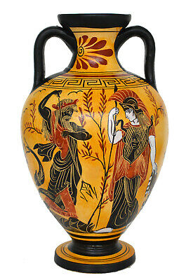 Goddess Athena and Poseidon - Artemis Diana Goddess of wild animals Amphora Vase