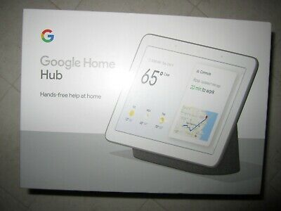 Google GA00515-US Home Hub with Google Assistant - Charcoal NEW FACTORY SEALED
