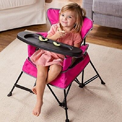 Baby High Chair Feeding Portable Folding Toddler Infant Child Booster Seat Chair