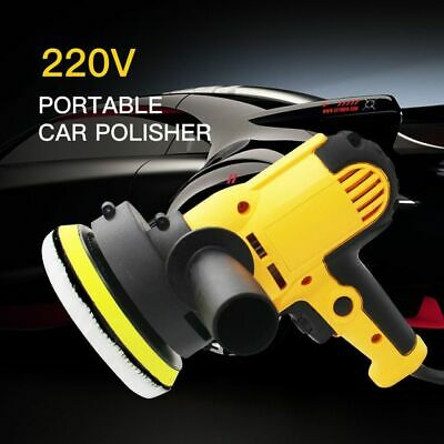 Electric Polisher Machine Car Adjustable Waxing Cleaning Tools 220V 3500rpm