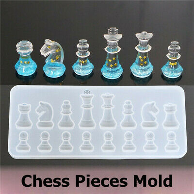 CREATIVE CHESS PIECES Silicone Mold Epoxy Mold Resin Mold DIY Crafting Tools