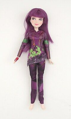 """Disney Descendants Mal Isle of the Lost Jointed 11"""" Doll Hasbro 2014 -No shoes"""