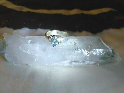 STUNNING & RARE ANGEL FAIRY STERLING SILVER Ring WICCA  AMULET PARA META