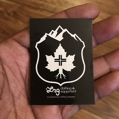 Rare Lifted Research Group Small Sticker LRG Clothing Hustle Trees