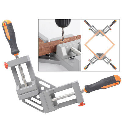 Right Angle Clamp 90°Degree Frame Corner Holder Double Handle Wood Metal Welding