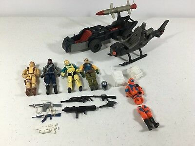 GI Joe ARAH Mixed Lot Dusty V3 Sky Creeper Interrogator Alley Viper Fang Adder