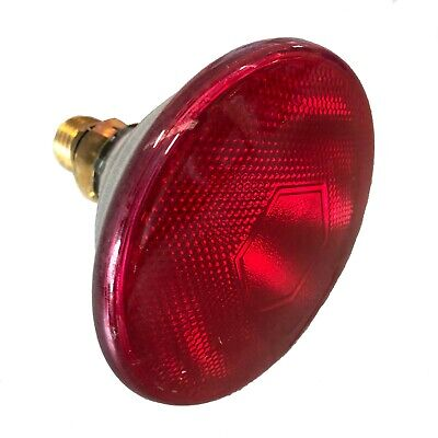 INFRA-RED 100W BROODER/WHELPING HEAT BULB/LAMP (for CHICKENS Puppies REPTILES)
