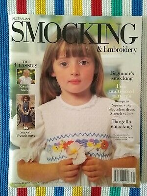 AUSTRALIAN SMOCKING & EMBROIDERY MAGAZINE - ISSUE No 41 -- 1997
