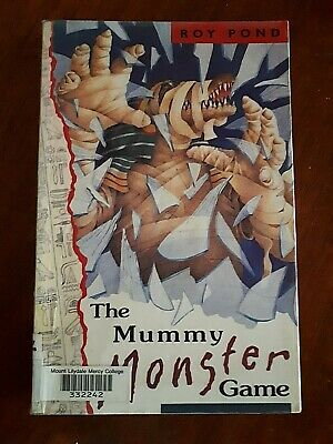 The Mummy Monster Game by Roy Pond - Aussie Author - computer game