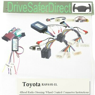 SWC-7658-02L Stalk Control aux retention,LEARNING for Xtrons/Toyota RAV4 01-11
