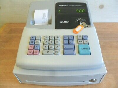 Easy To Use, Sharp Cash Register Shop Till Fantastic Condition With Free Spares