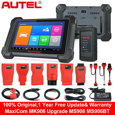 Autel MK908 OBD2 Auto Automotive Diagnostic Scanner ECU coding Better MS908 US