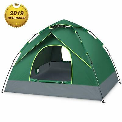 3 4 PERSON TENT for Family Camping Automatic Instant Pop Up