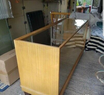 Used retail glass display cabinets