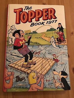 The Topper Book Annual 1977 Vintage Retro Christmas Gift Present Stocking Filler