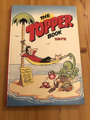 The Topper Book Annual 1972 Vintage Retro Christmas Gift Present Stocking Filler