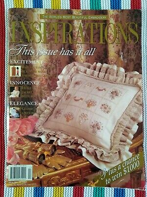 Inspirations Embroidery Magazine - Issue 13 - 1997 - Excellent Condition