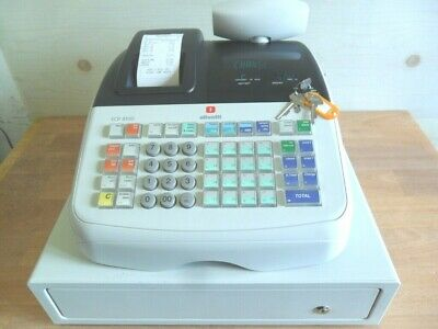 Olivetti Cash Register Shop Till In Great Condition Ideal Pub,cafe,catering Etc