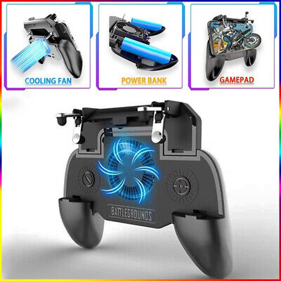 Mobile Phone Game Controller Joystick Cooling Fan Gamepad for PUBG Android IOS*