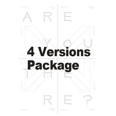 Take.1 ARE YOU THERE? by MONSTA X The 2nd Album [Ver. I+II+III+IV - 4 items]