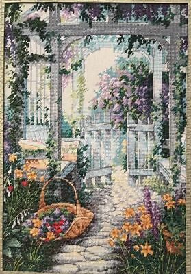 "DIMENSIONS ""GARDEN GATE""CROSS STITCH KIT Kreuzstich STICKPACKUNG"