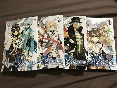 Tales Of Zestiria Manga A Time Of Guidance Complete Set 4 Volumes English