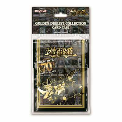Yu-Gi-Oh! Golden Duelist Collection Deck Box - Trading Card Game TCG Card Case