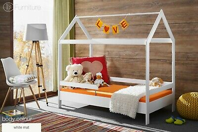 Children Toddler Adventure Bed Children House Frame Base Timmy's House 160 x 80