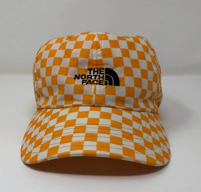 Supreme x TNF The North Face Yellow Checkered Cap Hat