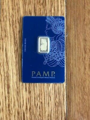 PAMP Suisse Fortuna 2.5g Gram Fine Gold Bar Bullion 999.9