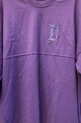 "Disney Parks ""Disneyland Resort Est. 1955"" Spirit Jersey Purple X-Small Nwt"