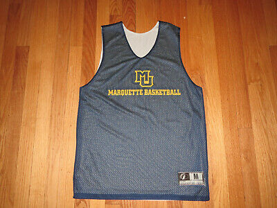 cheaper 8f4ca 1b65a Marquette Golden Eagles NCAA Reversible Jersey T-shirt Adult Medium   MINT