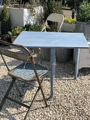 Georgian Painted Drip Lead Table Shabby Chic