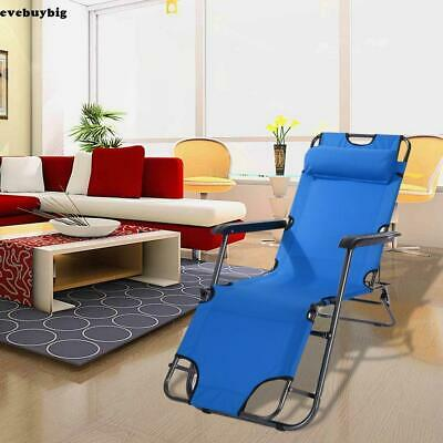 Local Pickup! Outdoor Folding Reclining Chair Zero Gravity Chaise Lounge Patio