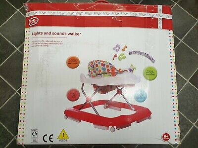 Baby By Chad Valley Lights And Sounds Walker 6 months plus Complete Boxed