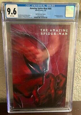Amazing Spider-Man #800 Dell'Otto Variant CGC 9.6