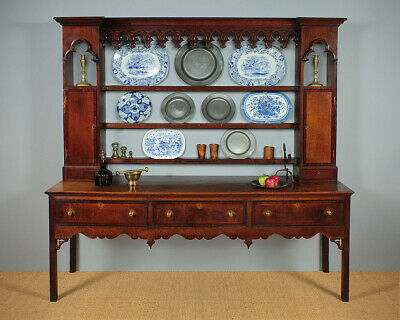 Antique Gothic Welsh Dresser c.1820.