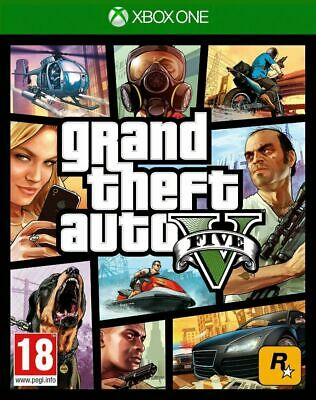 Grand Theft Auto GTA V 5 (XBOX ONE VIDEO GAME) *NEW/SEALED* FREE P&P