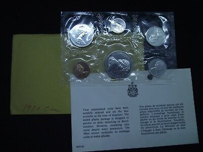 """2014 Canada /""""Limited Edition of 75,000/"""" Uncirculated Set Canadian Coins"""