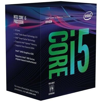 Intel - Core i5-8600K Coffee Lake Six-Core 3.6 GHz Desktop Processor - Silver