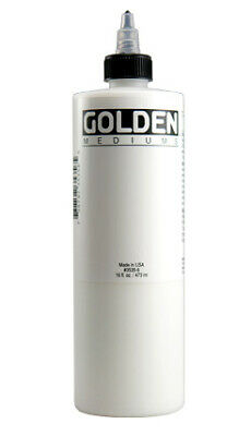 Médium diluant HIGH FLOW pour aérographe (Extender) 473 ml - Golden
