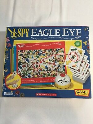 I Spy Find It Fast Game Matching Dice Card Game Ages 6 Scholastic Briarpatch New