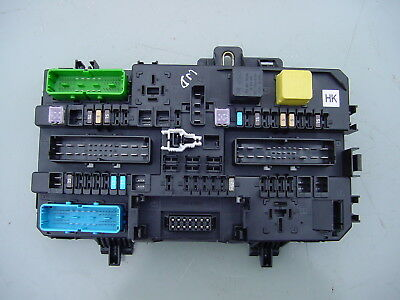 mk5 vauxhall astra fuse box, reset rear from boot rec with fuse + relay  board