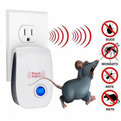 Electronic Ultrasonic Pest Reject Anti Mosquito Cockroach Mouse Killer Repeller