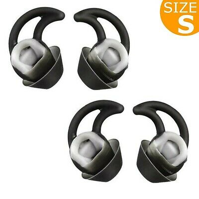 Replacement Silicone Earbuds Ear Buds Tips Eargel Isolation Double Flange for...