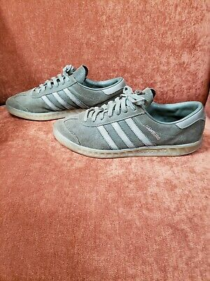 huge selection of wide range order online ADIDAS HAMBURG RARE Base Green/Metallic Silver Mens samba ...
