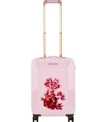 c848fdcd3 Ted Baker Cabin Size Splendour Hard Shell Spinner Suitcase BNWT Pink Sold  Out