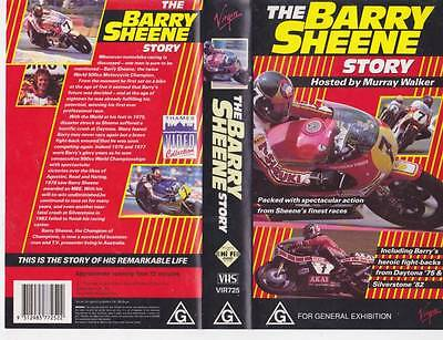 The Barry Sheene Story  Vhs Video Pal  A Rare Find
