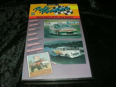 Pole Position Volume 4 Motorsport Vhs Video Pal~ A Rare Find