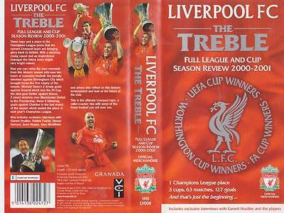 Liverpool The Treble Vhs Video Pal~A Rare Find